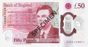 £50 Polymer Notes into circulation on June 23rd 2021